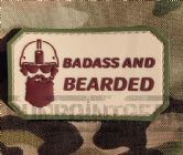 Gun Point Gear Badass and Bearded PVC Patch